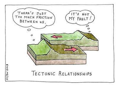 eathquake faults