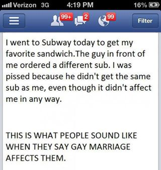 Truth about Marriage Equality