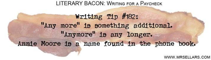 Writing tip
