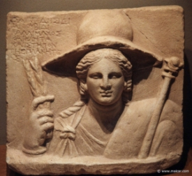 Isis from a temple in Macedonia, 2nd century BCE