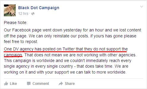 fb dv agency refused support